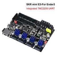 BIGTREETECH SKR mini E3 V1.2 Placa de Control 32Bit con controlador UART TMC2209 impresora 3D partes skr v1.3 E3 Dip para Creality Ender 3