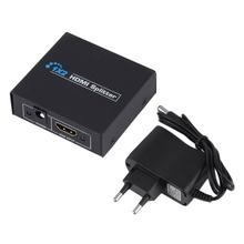 HDCP HDMI Splitter Video Full HD 1080 P HDMI Switch Switcher 1X2 Split 1 Di 2 Keluar Amplifier dual Display untuk HDTV DVD PS3 XBOX(China)