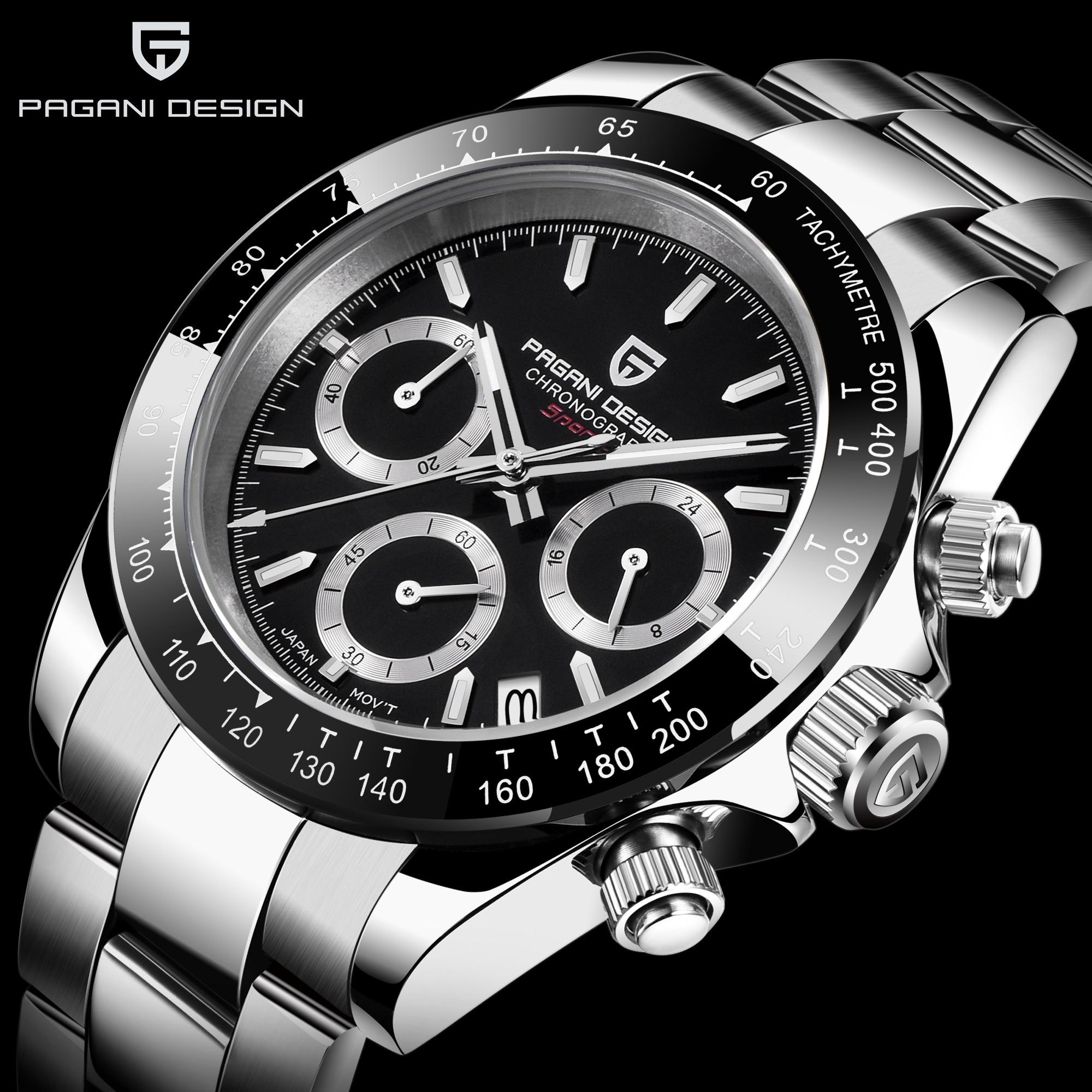 PAGANI DESIGN 2020 marque hommes sport montre à Quartz de luxe hommes étanche montre-bracelet nouvelle mode montre décontractée pour homme relogio masculino