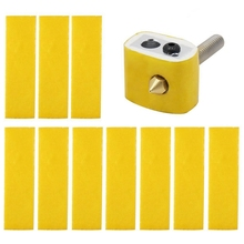 20Pcs Heating Block Cotton for MK8 Makerbot Reprap 3D Printer Hotend Nozzle Heat Insulation стоимость