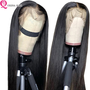 Image 2 - Straight Natural Wig Pre Plucked 13x6 Lace Front Human Hair wigs For Black Women Remy 360 Lace Frontal Wig Brazilian Hair Wigs