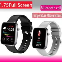 1.75 Sports Smart Watch for Man Women Full Touch Blood Pressure Smart Clock Women watch Smart watch for IOS Android Xiaomi Phone 1