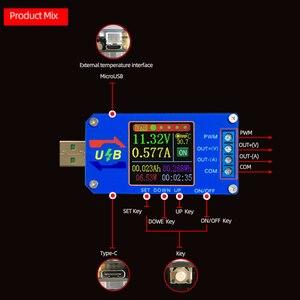 Image 2 - Módulo de potência 5 v do cv do conversor 5 v do impulso da c.c./buck a 0.6 30 v 2a ajustável regulou o medidor atual da capacidade da tensão da fonte de alimentação