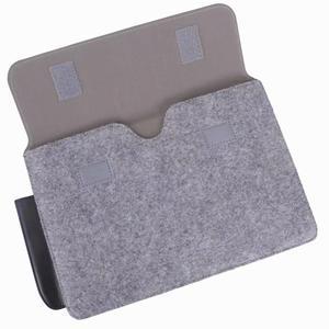 """Image 5 - Tablet kol çantası kılıf kılıfı için olağanüstü 10.3 e okuyucu moda çanta yün keçe kol çantası dikkat çekici 10.3 """"Funda + kalem"""