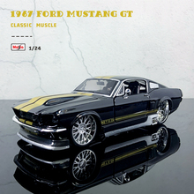 Maisto 1:24 NEW Modified version 1967 Ford Mustang GT modified alloy car model collection gift toy