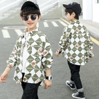 Boys Elegant Patchwork Shirts