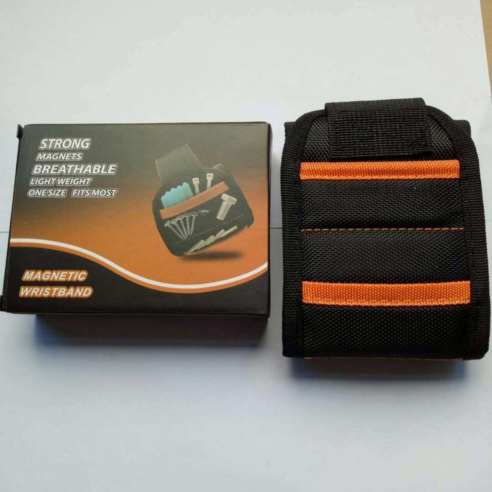Super Magnetic Wristbands Holding Tools Wrist Strap Pickup Repair Tools