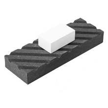 Flattening-Stone Fixer Coarse/fine with Grooves Dual-Grit Set-Two