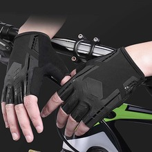 M/L /XL/XXL Cycling Gloves Bicycle Shockproof Breathable Sports Half Fingger Gloves Outdoor Sports Cycling Equipment 2019 New цена