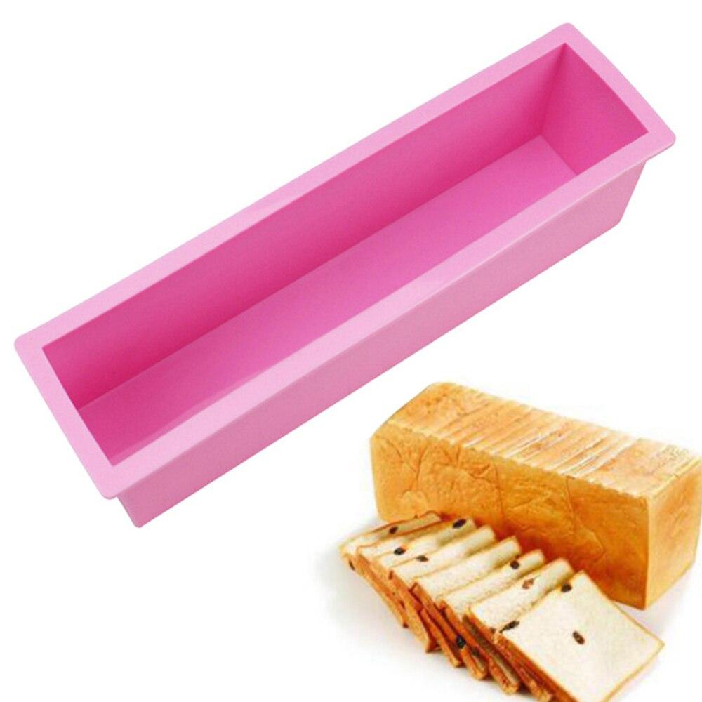 Moule à gâteau en Silicone moule de cuisson en Silicone moule à savon en forme de moule à pain antiadhésif pour pain gâteau au chocolat cuisson