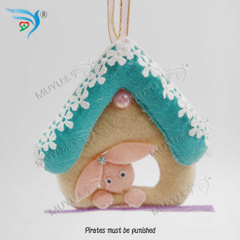 Bunny cottage DIY new wooden mould cutting dies for scrapbooking Thickness-15.8mm/muyu/YT0678