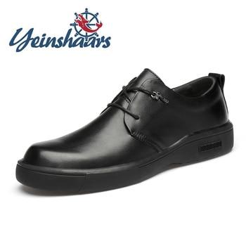 2020, Zapatos para Hombre, Estilo Vintage británico, Zapatos casuales de cuero genuino,...