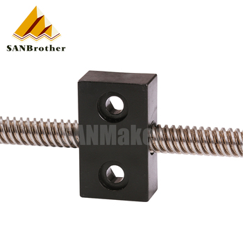 3d printer nut T openbuilds type anti-backlash nut block T8 screw 8mm screw lead 2mm 4mm 8mm 1pcs image