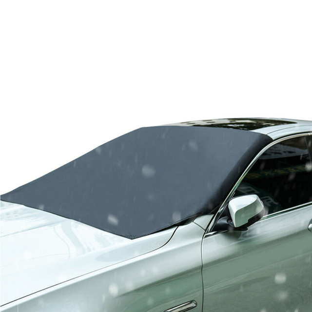 Automobile Magnetic Car Windshield Snow Cover Winter Ice Frost Guard Sunshade Protector Protector Cover Car Front Windscreen Cov 4
