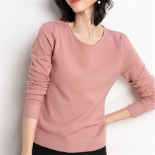 Women Sweater Korean Woman Wool Knitted Sweaters Fashion 2019 Sueter Mujer Invierno Cashmere OL