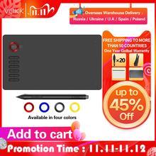 VEIKK ציור Tablet A15 גרפי לוח 10x6 סנטימטרים דיגיטלי ציור כרית באינטרנט חינוך אמנות לאמנים 8192 רמות לחץ