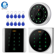 Access-Control-Keypad Rfid Keyboard Touch Wiegand Metal Waterproof 125khz for 26/34