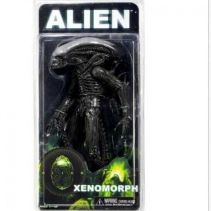 NECA Official <font><b>1979</b></font> Movie Classic Original <font><b>Alien</b></font> Action Figure Collectible Toy Doll 18cm image