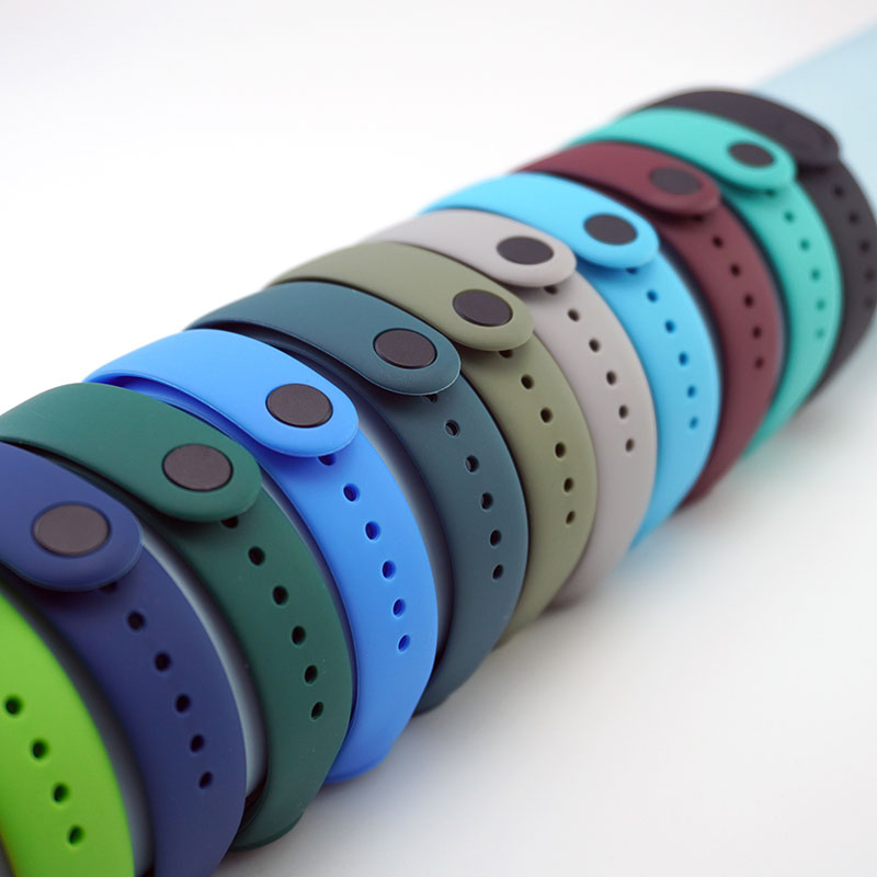 רצועת עבור Mi band 4 5 6 קוראת miband4 miband5 miband6 החלפת סיליקון חכם רצועת השעון צמיד Xiaomi mi band 5 4 3 רצועה