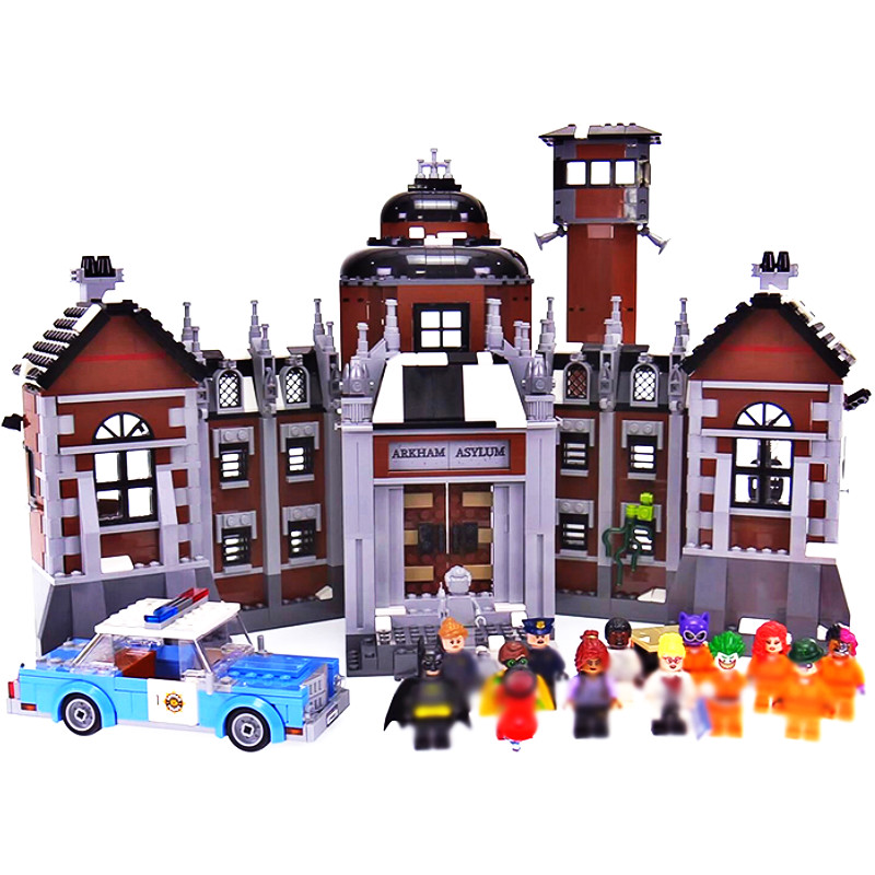 07055 Super Hero Arkham Asylum Robin Building Block Bricks Toys Compatible With <font><b>70912</b></font> Batman Movie Christmas Gift image