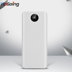 QC 3,0 Быстрая зарядка USB внешний аккумулятор зарядное устройство коробка светодиодный цифровой дисплей светильник 8*18650 зарядное устройство ...