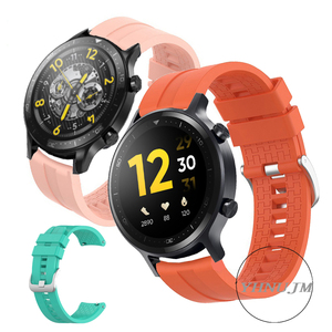 Image 1 - Realme Watch S Strap Silicone Wristband realme s pro band Sports Band Bracelet Replacement Band