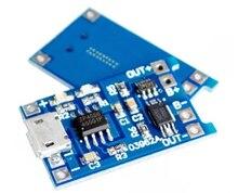 5pcs 18650 리튬 배터리 마이크로 USB 보호 3.7v 3.6V 4.2V 충전기 보드 1A Overshoot 과방 전 보호 충전 보드