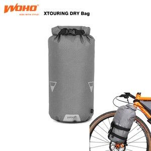 Сверхлегкие велосипедные сумки WOHO BIKEPACKING, полностью водонепроницаемые велосипедные сумки для MTB, дорожные велосипедные сумки, гравийные ве...