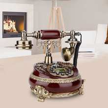 Id-Telephone Display Desktop Hotel Retro Office Vintage FSK/DTMF Home with for Decoration