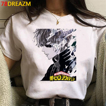 Couple T-Shirt Grunge Harajuku Academia My-Hero