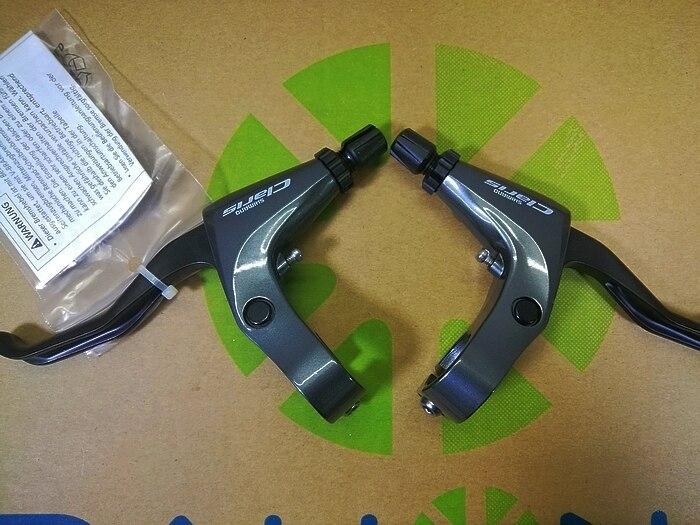 New SHIMANO SORA BL-R3000 Brake Lever Pair Dark gray SL-3500 upgraded