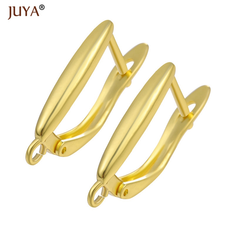 Jewelry Making Supplies Handmade Earring Accessories High Quality Copper Metal Earrings Clasps Hooks Earwire Fittings 1 Pair