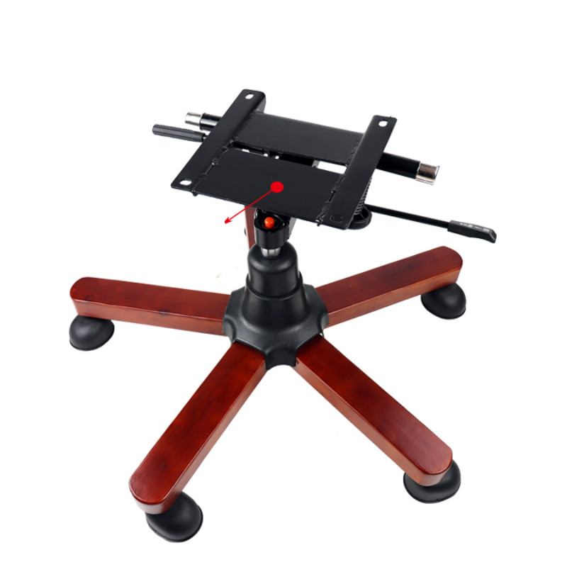 Five Star Foot Boss Computer Office Chair Chassis Solid Wood Chair Foot Chair Accessories Furniture Accessories Explosion-proof
