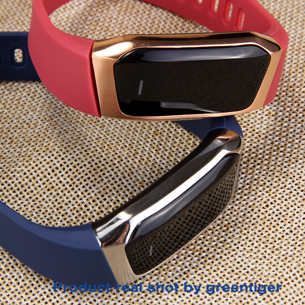 H03acc4bf701c4a8095f61552343de15aF Greentiger E18 Smart Bracelet Blood Pressure Heart Rate Monitor Fitness Tracker smart watch IP67 Waterproof camera Sports Band
