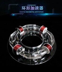 Image 5 - Ring Gaspedaal Cyclotron High Tech Speelgoed Fysieke Model Diy Kit Kinderen Gift Speelgoed