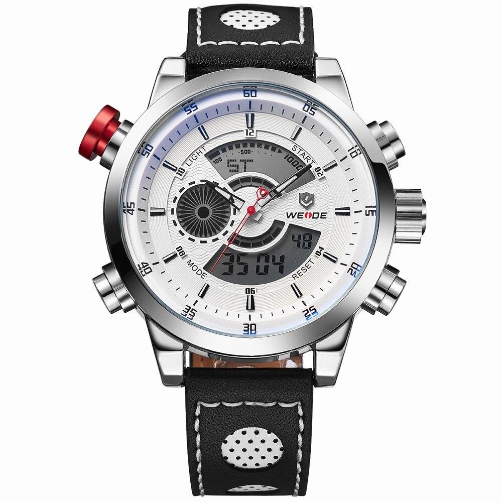H03ace31022804f67b87f2f4437a54517S Weide watch Men Luxury Top Brand Quartz Watch Fashion Business Male Watch Shockproof Luminous Wristwatch