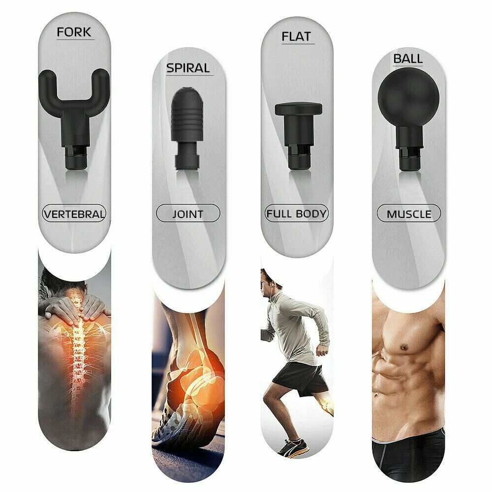 Image 5 - Silver Phoenix A2 Massage Gun Percussion Massager Muscle Vibrating Relaxing Machine-in Massage & Relaxation from Beauty & Health