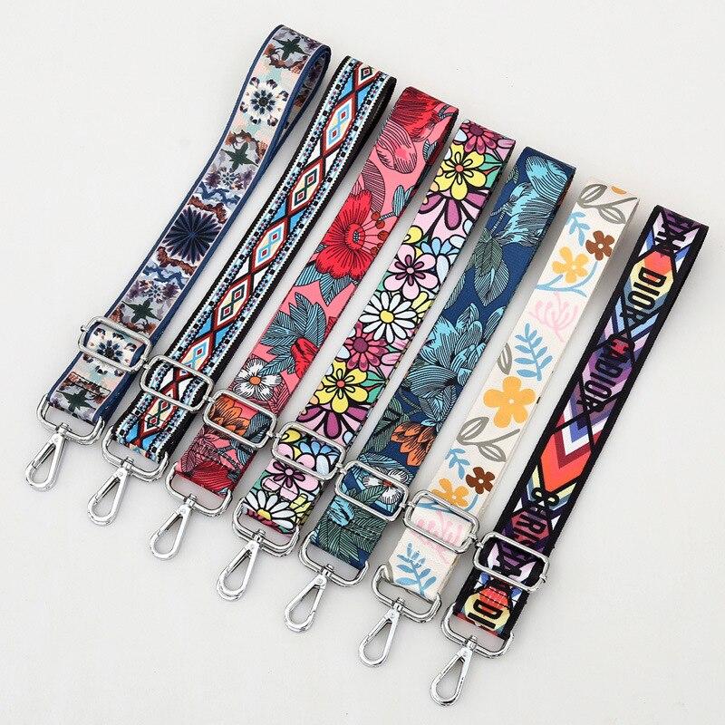 Belt-Bag Straps Handbag Shoulder-Messenger-Bags Rainbow Parts-For-Accessories Adjustable