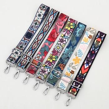 Nylon Belt Bag Straps For Women Shoulder Messenger Bags Adjustable Wide Strap Parts For Accessories Rainbow O Bag Handle Handbag