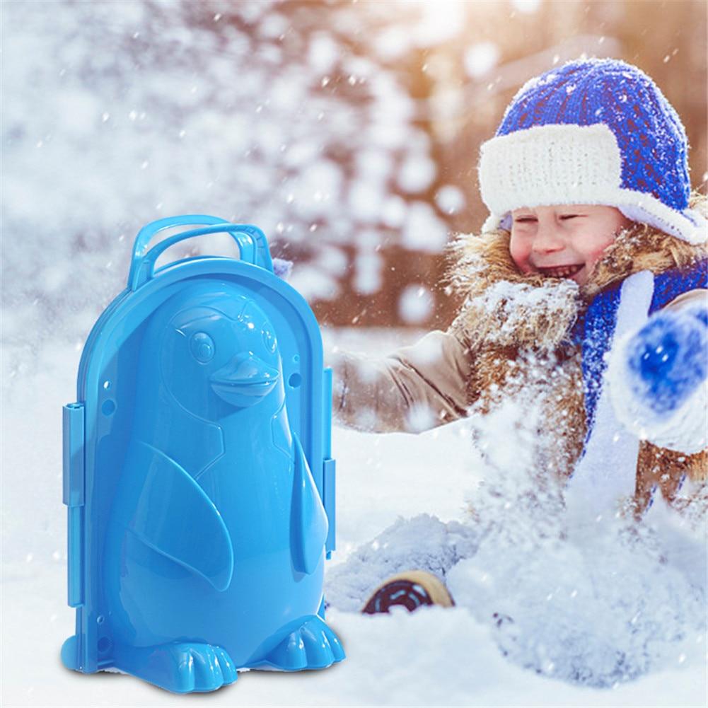 Winter Snow Ball Maker Sand Mold Tool Snowball Clip Kids Lightweight Compact Snowball Scoop Fight Outdoor Sport Tool Toy