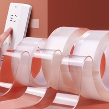 Double-Sided-Tape Nano Waterproof 1/2/3/5m Cleanable Transparent No-Trace 024094 Home