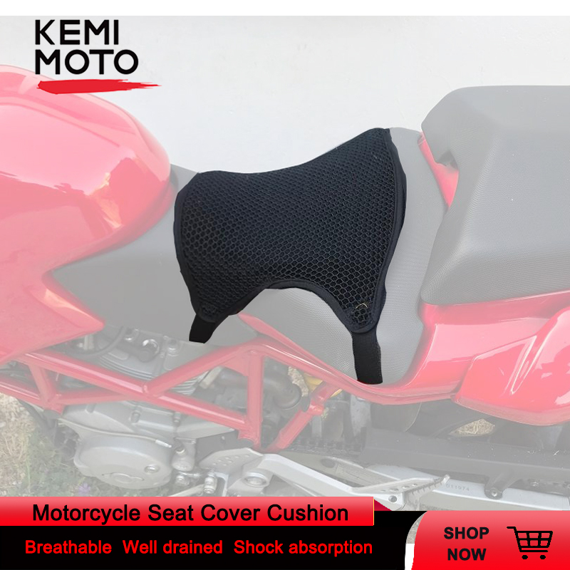 Motorcycle Seat Cover Cushion Protect Sunscreen Prevent Sun Pad Waterproof 3D Mesh For YAMAHA Tmax For Honda For BMW For Scooter
