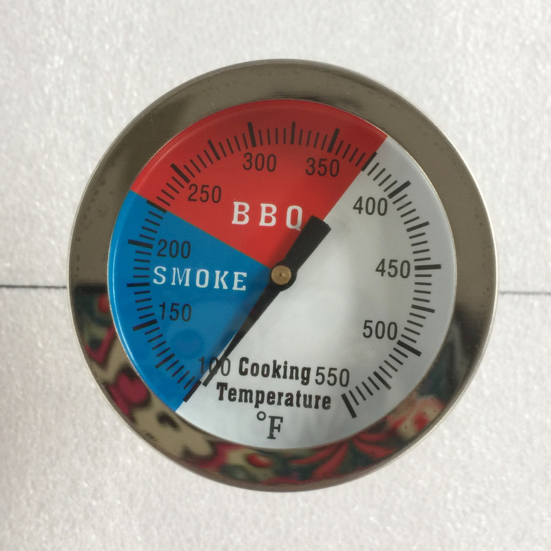 1pc 300 Grad <font><b>Thermometer</b></font> BBQ Rauch Grill Ofen Temperatur Gauge Outdoor Camp Werkzeug image