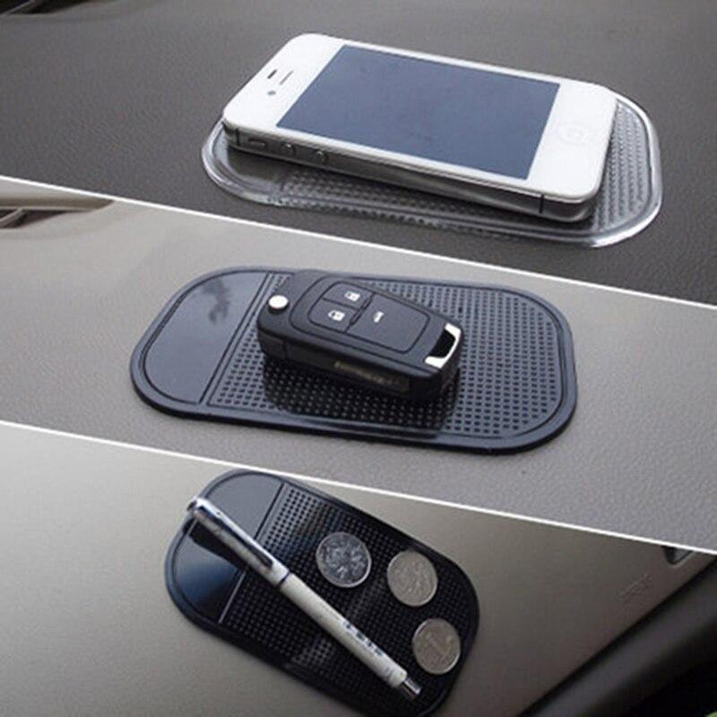 Otomobil iç aksesuarları cep telefonu için Mp3mp4 Pad GPS Anti kayma araba yapışkan kaymaz Mat