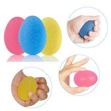 Egg-Shaped Silicone Grip Ball Hand Fitness Ball Finger Stren