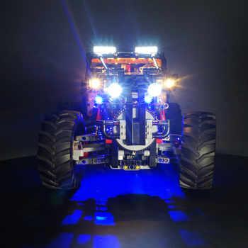 Kyglaring led light kit for lego Technic 42099 4x4 X-Treme Off-Roader(only light included)