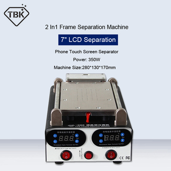 TBK-006 2 IN1 Repair Separator Machine Samsung iphone LCD Panel Separator Machine And Frame Remove Stents Maintenance Tools