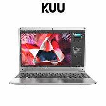 Kuu14.1 polegada intel n3450 quad core 6gb ddr4 ram 256gb ssd notebook ips portátil com sata adicional 2.5 porto escritório estudo netbook