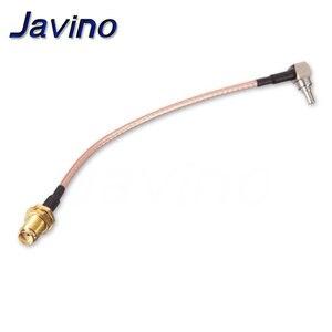 SMA Female to CRC9 Угловой Соединитель кабель RG316 Pigtail 15 см 6