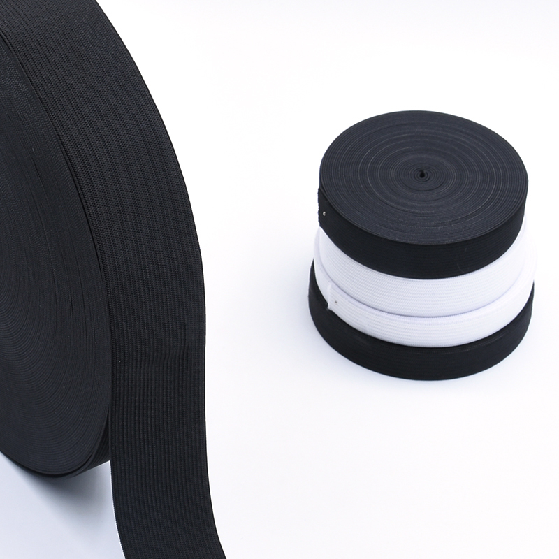 Flat elastic rubber band strap garment sewing accessories